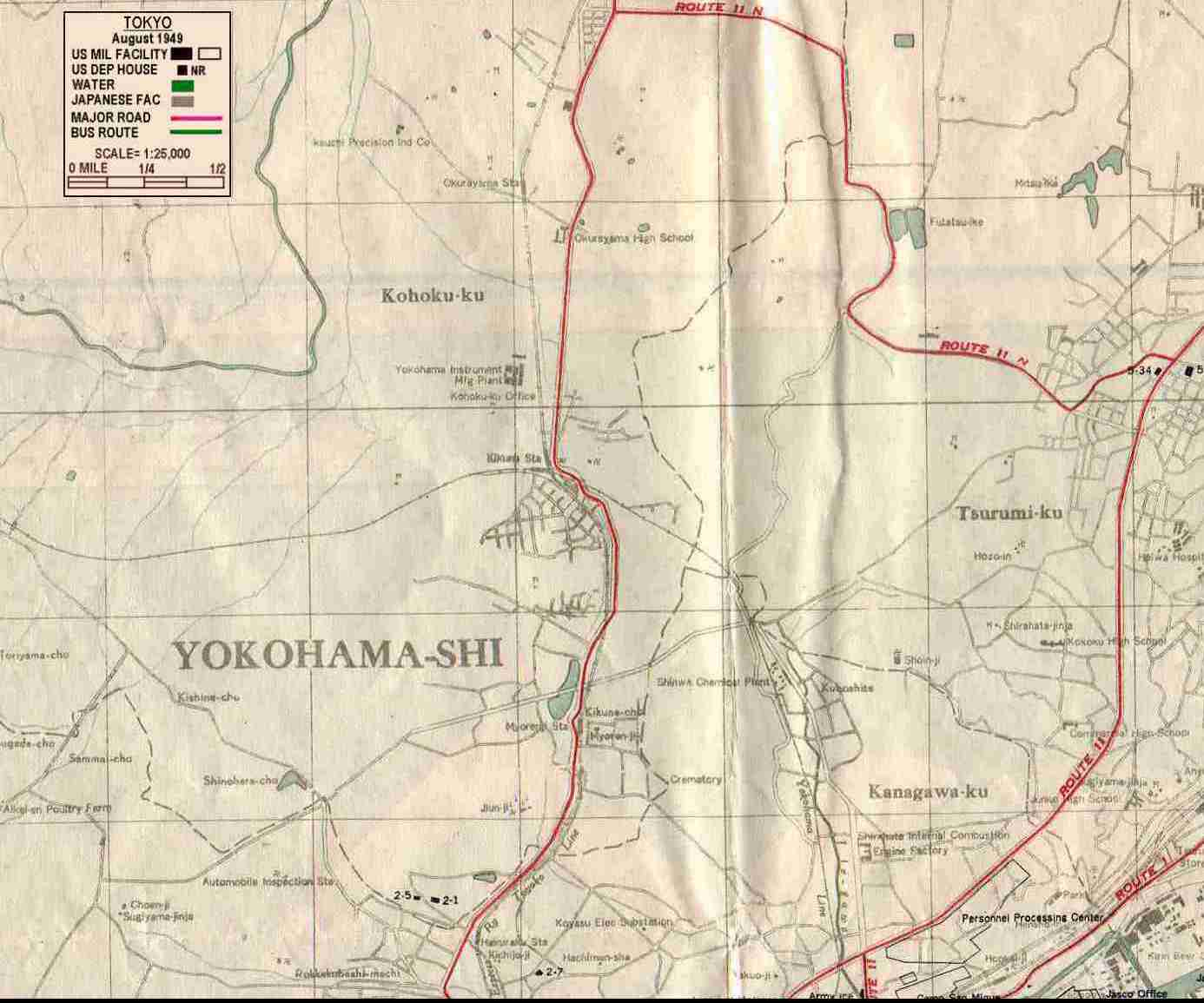 MORE MAPS - Japan map yokohama tokyo